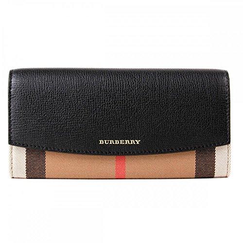Burberry Women's Wallet 3955506 Porter Housecheck, Size: 19x10x3cm