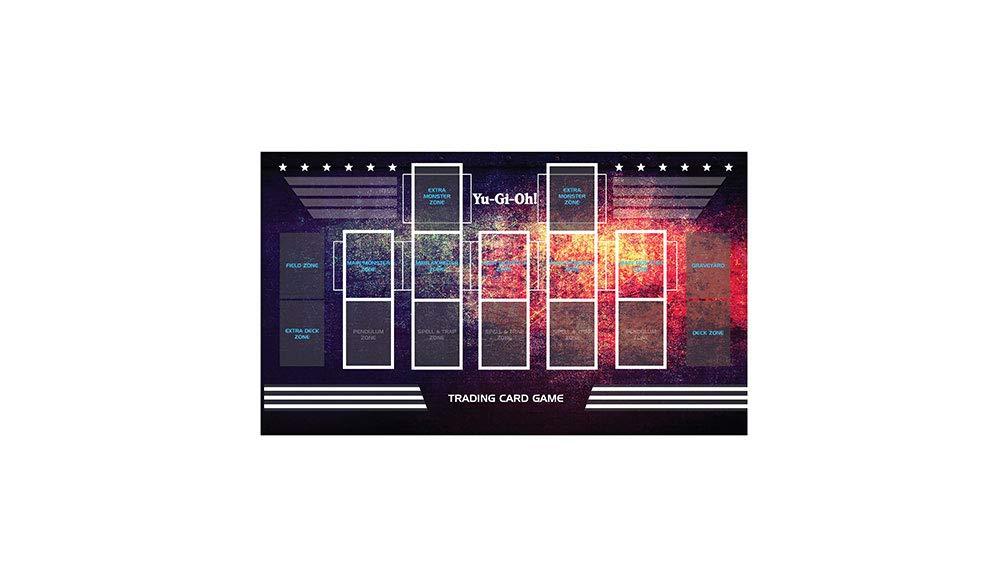 YuGiOh Master Rule 4 Link Zone Playmat Template 2017 Custom TCG Mat Free Tube