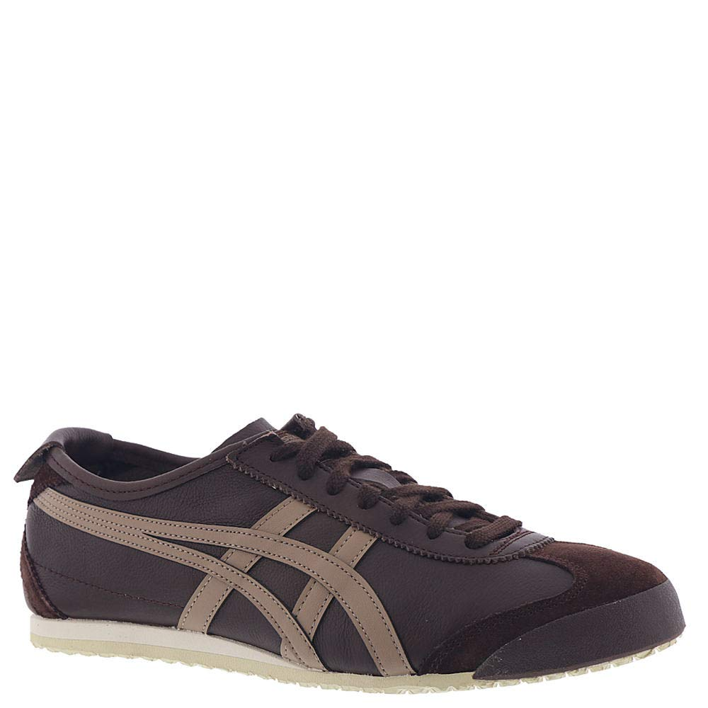 Onitsuka Tiger Mexico 66 Classic Running (12 M US, Coffee/Taupe Grey)
