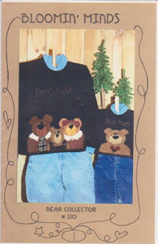 Bear Collector # 110 Sewing Applique Craft Pattern By Bloomin Minds