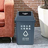 AINIYF Plastic Bin Trash Can Outdoor Shingling