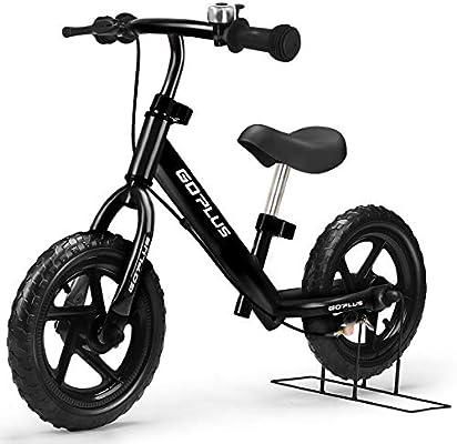 "7c6625ce432 Goplus 12"" Kids Balance Bike No-Pedal Learn to Ride Pre Bike Push  Walking"