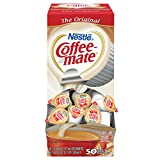 Nestle Coffee Mate Coffee Creamer, Original, 0.375oz Liquid Creamer Singles, 50 Count