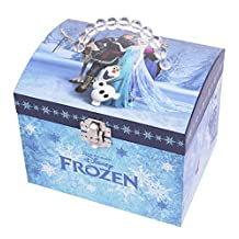Traditional, Well Made - Top Quality Xmas Christmas Stocking Filler Gift Present Idea Age 3+ - Girls Children Kids Girl Child - Trousselier Vanity Case with Music - Frozen - One Supplied by Kenzies Gifts