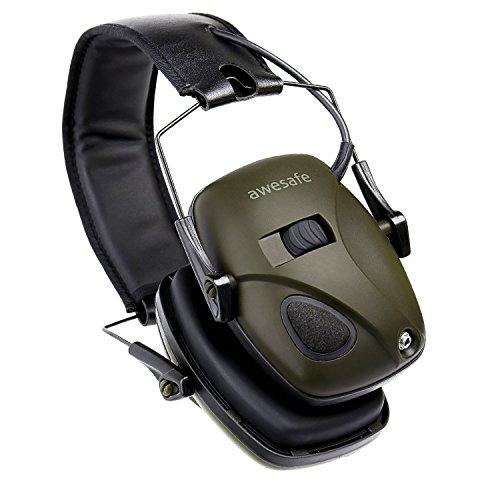 awesafe GF01L Protection auditive électronique pour les sports d'impact [Livré avec sac de transport rigide], Protège… 3
