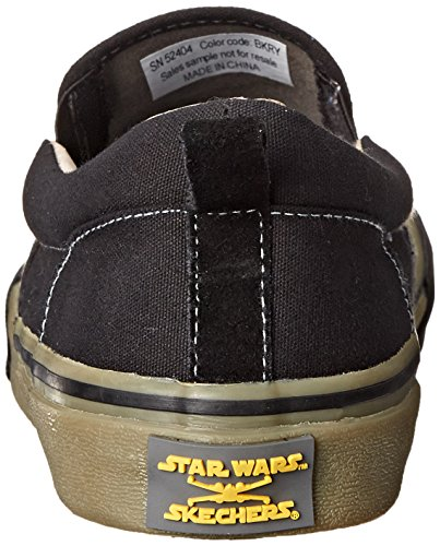 Skechers Star Wars Menns Slip-on Sneaker Svart / Royal