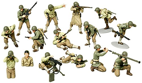 Us Army Infantry Wwii 1/48