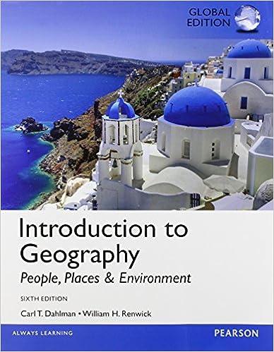 Kostenlose Hörbücher online herunterladen ipod Introduction to Geography: People, Places, and Environment, Global Edition 129206126X auf Deutsch PDF DJVU FB2