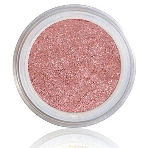 Pure Bare Organic & Vegan Mineral BLUSH Light tea ROSE Pink Gluten carmine FREE bare natur-all minerals