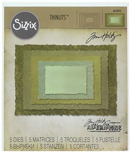 Sizzix 662694 Thinlits Die, Green