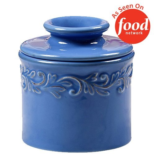 The Original Butter Bell Crock by L. Tremain, Antique Collection - Azure Blue by Butter Bell
