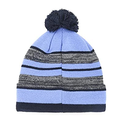 NFL Huset OTS Cuff Knit Cap with Pom, One Size