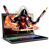 SAGER NP8952 15.6 FHD IPS VR Ready Gaming Laptop, Intel i7-7700HQ, NVIDIA GeForce GTX 1070 8GB GDDR5, 16GB RAM, 250GB M.2 SSD, Windows 10 Home