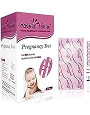 Easy@Home 20 x Zwangerschapstesten voor Vroege Detectie 10 MIU/ml, Vruchtbaarheidstestkit, 20 HCG-Testen