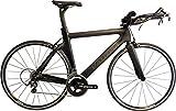 Valdora PHX-2 Carbon Fiber Triathlon Bike Frameset - Large - Black W/Grey Accents