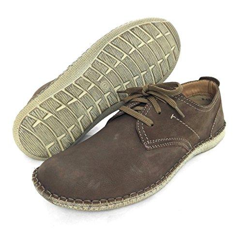 Zerimar Zapato estilo casual con cordones fabricado en piel de alta calidad PRECIOS DE REBAJAS - AHORA 0 NUNCA Color cafe Cafe