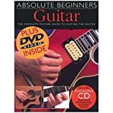 Absolute Beginners - Guitar Book and CD and DVD Package