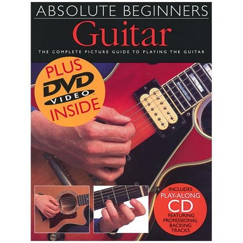 Absolute Beginners - Guitar Book and CD and DVD Package by Absolute