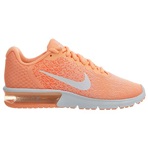 explore online countdown package online NIKE Men's Air Max Sequent 2 Running Shoes Sunset Glow/White-hyper Orange in China supply fast delivery sale online LOK63MYwo