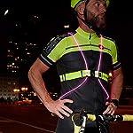 Noxgear-tracer360-rivoluzionario-Illuminato-e-Catarifrangente-per-Corsa-o-Ciclismo-Unisex-Tracer360-Black