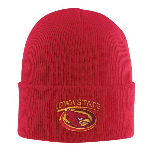 NCAA Iowa State Cyclones Acrylic Watch Hat, Red, One Size