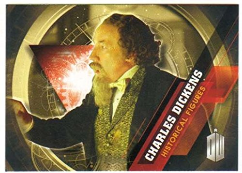 (2016 Topps Doctor Who Timeless Historical Figures #6 Charles Dickens )