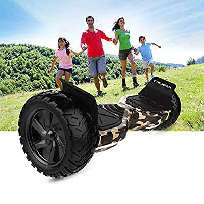 HYPER GOGO 8.5 Inch Hoverboard - Electric Smart Self Balancing Wheel Hoverboard Scooter - Hover Board with Bluetooth Speakers,LED Lights UL 2272 Certifie