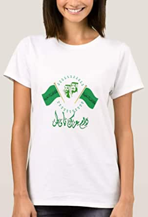 T-Shirt with design for women - Kingdom of Saudi Arabia