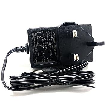 6 V Proform 895 ZLE plegable bicicleta elíptica 3 Pin Uk mains adaptador de fuente de