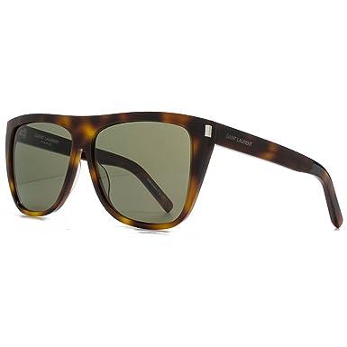 Saint Laurent SL 1 Sonnenbrille in Havanna Green SL 1 003 59 59 Green sAuOE