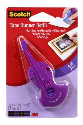 (Scotch 017R-4 0.33-Inch by 403-Inch Tape Runner Refill)
