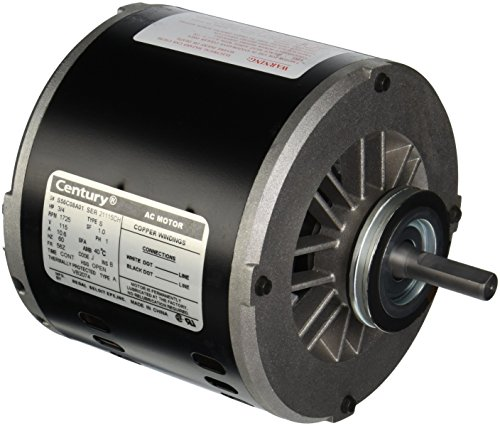 AO Smith VB2074  6-1/2-Inch Frame Diameter 3/4 HP 1725 RPM 115-Volt 10.6-Amp Sleeve Bearing Evaporative Cooler Ao Smith Power Vent