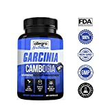Garcinia Cambogia - 100% Pure Garcinia Cambogia Weight Loss Capsules - Guaranteed All Natural High Strength HCA for Weight Management and Appetite Suppression - Potent Fat Burner by Allegro Nutrition