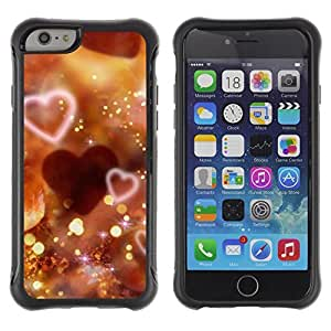 iArmor Hybrid Anti-Shock Defend Case / Love Bokeh / Apple Iphone 4s