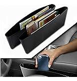 Vetra Car Seat Caddy Pocket Catcher Black Set of 2 For Hyundai Creta