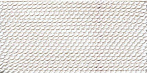 White Nylon Bead Cord #4 - BDC-101.04 by Griffin