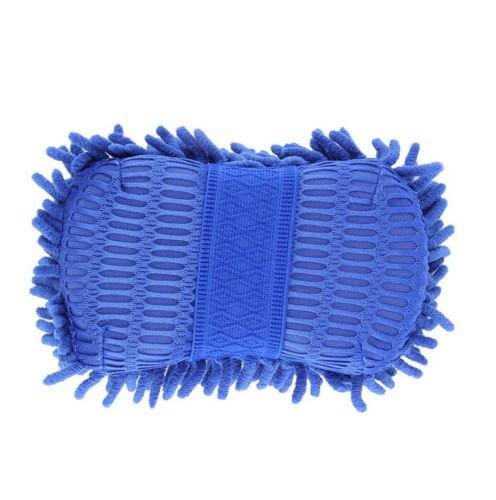 PeachFYE 2pcs Car Wash Gloves Car Cleaning Sponge Car Window Cleaning Ultrafine Fiber Chenille Anthozoan Washer Sponge Brushes by PeachFYE (Image #3)