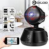 Hanbaili Home Security Motion Detection, V380 Night Vision Mini 1080P HD Baby Monitor WIFI IP Camera Cam Surveillance Camera Premium