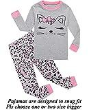 Dolphin&Fish Girls Pajamas Cat Little Kids Pjs 100% Cotton Toddler Clothes Children Sleepwear 8T