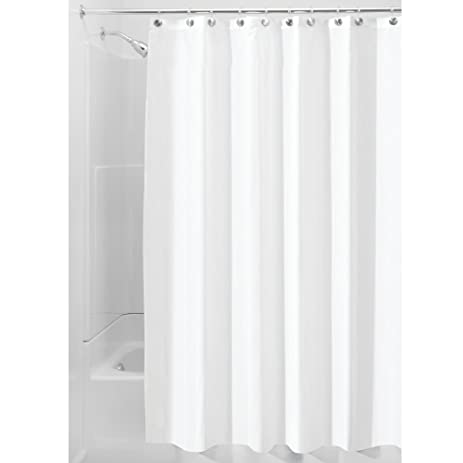Elegant InterDesign Waterproof Mold And Mildew Resistant Fabric Shower Curtain,  72 Inch By 72