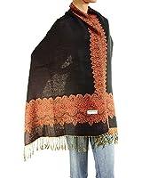 "Falari Women's Woven Double Side Pashmina Shawl Wrap Scarf 80"" x 27"""