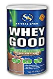 Cheap Natural Sport Whey Good Protein, Chocolate, Powder, 498 Grams