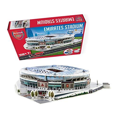 Nanostad Arsenal Emirates Stadium 3D Puzzle (3d Puzzles Stadium)