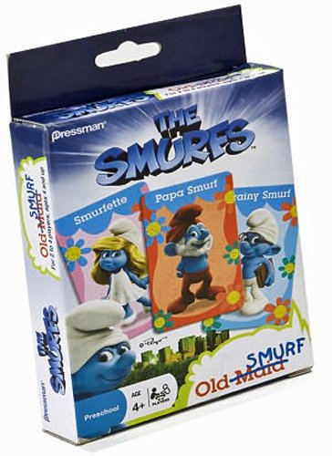 The Smurfs Old Maid Card Game]()