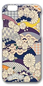 iPhone 6 Case, Custom Design Covers for iPhone 6 3D PC Case - Flower Background 01