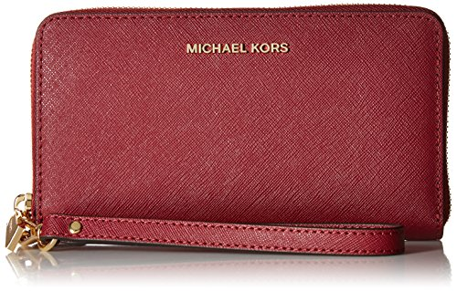 Michael Kors Wristlets Large Flat Phone Case Saffiano Leather
