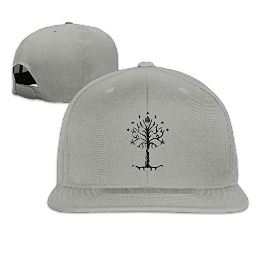 (Flat-along Adjustable White Tree Of Gondor Caps Hat World)