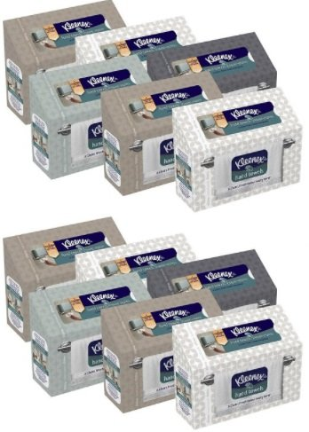 Kleenex Hand Towels, 60 Count (12 Pack)