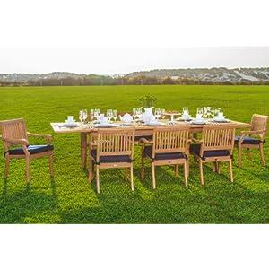 51c7fMqjDSL._SS300_ Teak Dining Tables & Teak Dining Sets