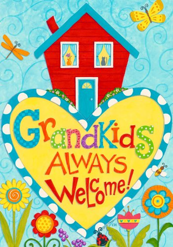 Grandkids Always Welcome Butterfly Grandparent